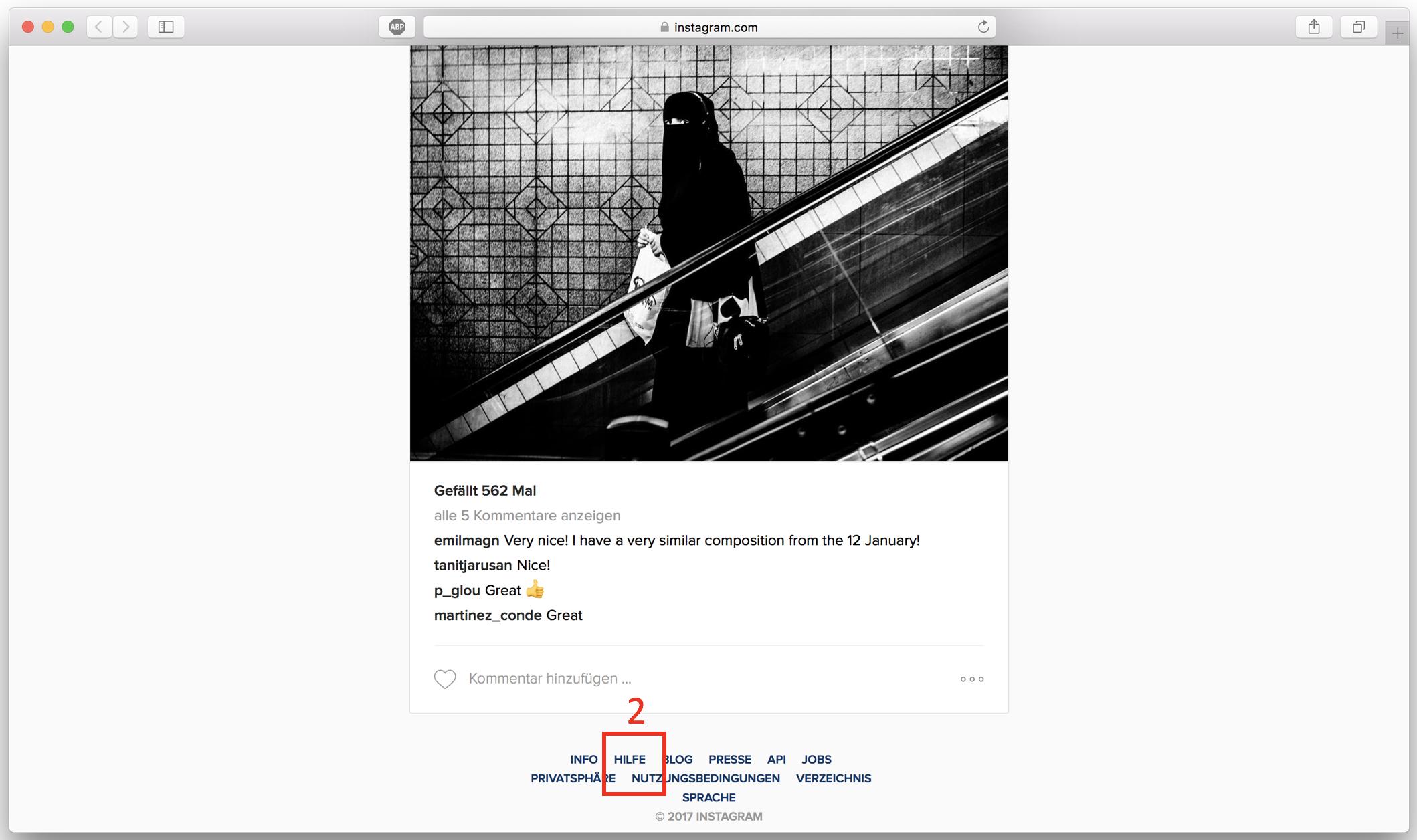 story instagram löschen